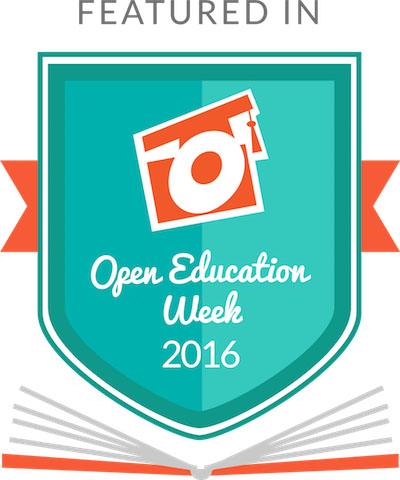 Open Education Week 2016